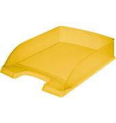 Briefablage 5227 Plus A4 / C4 gelb-transparent staplebar
