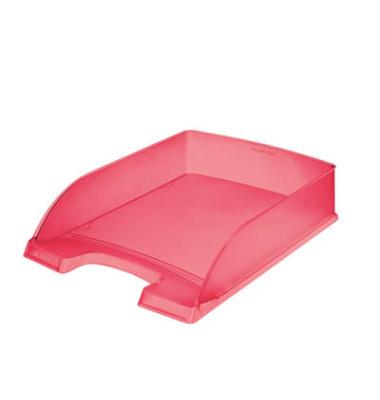 Briefablage 5227 Plus A4 / C4 rot-transparent staplebar