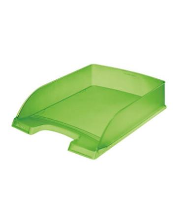 Briefablage 5227 Plus A4 / C4 grün-transparent staplebar