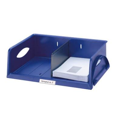 Briefablage-Box 5230 Sorty A4 / C4 quer blau stapelbar