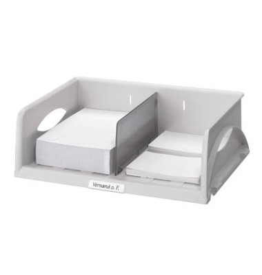 Briefablage-Box 5230 Sorty A4 / C4 quer grau stapelbar
