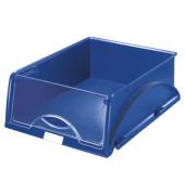 Briefablage-Box Sorty 5231-00-35 mit Frontklappe A4 / C4 blau Kunststoff stapelbar