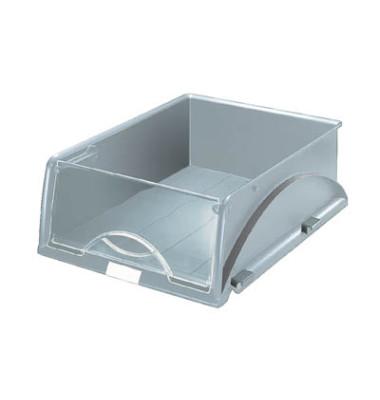 Briefablage-Box Sorty 5231-00-85 mit Frontklappe A4 / C4 grau Kunststoff stapelbar