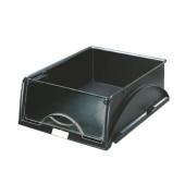 Briefablage-Box Sorty 5231-00-95 mit Frontklappe A4 / C4 schwarz Kunststoff stapelbar