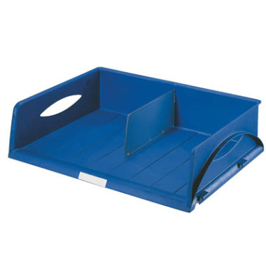 Briefablage-Box 5232 Sorty Jumbo A3 quer blau stapelbar