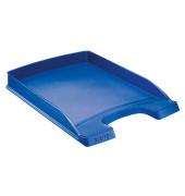 Briefablage 5237 Plus A4 / C4 blau stapelbar