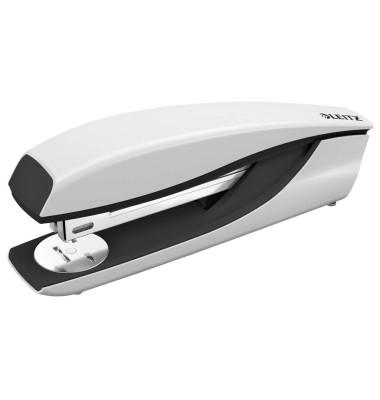 Heftgerät 60mm Einlegetiefe grau f.24/6+26/6 Metall