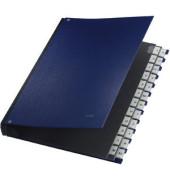 Pultordner A4 mit Kunststoffüberzug blau A4 20-teilig A-Z