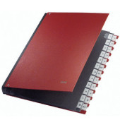 Pultordner 5924 A4 mit Kunststoffüberzug rot A4 20-teilig A-Z