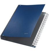 Pultordner 5931 A4 1-31 blau 31-teilig