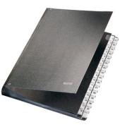 Pultordner 5931 A4 mit Kunststoffüberzug schwarz A4 31-teilig 1-31