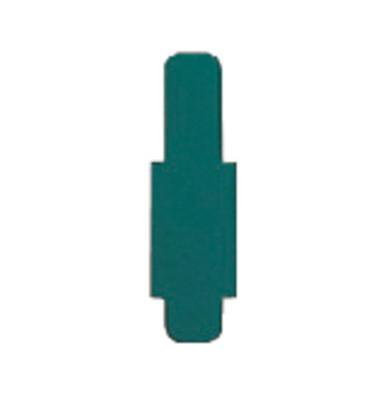 Signalreiter 0,3mm Hartfolie d.grün 40x12mm 50 St