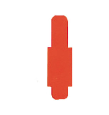Signalreiter 0,3mm Hartfolie orange 40x12mm 50 St