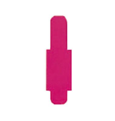 Signalreiter 0,3mm Hartfolie violett 40x12mm 50 St