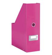 Stehsammler Click&Store met. pink 253x103x330 f.A4