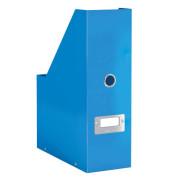 Stehsammler 6047-00-36 Click&Store 103x253x330 A4 Hartpappe blau
