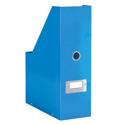 Stehsammler Click & Store met. blau 253x103x330 f.A4