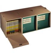 Archivbox tric Farbe: grau/weiß 45,5 x 35,5 x 27 cm DIN A3