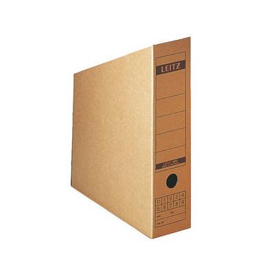 Stehsammler 6083-00-00 80x270x320mm A4 Wellpappe naturbraun