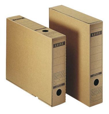 Archivbox braun 7 x 26,5 x 32,5 cm DIN A4