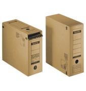 6086 Archivbox braun DIN A4