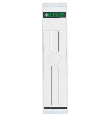 6093-00-85 61 x 297 mm Rückenschilder weiß 10 Stück für z.B. Hängeordner