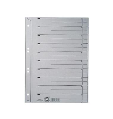 Trennblätter 6097 A4 grau 200g 100 Blatt Recycling