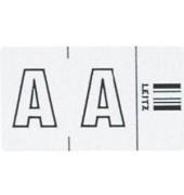 6610 Ziffernsignale Orgacolor Buchstaben A weiß 23x30mm 250 Stück