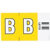 6611 Ziffernsignale Orgacolor Buchstaben B gelb 23x30mm 250 Stück