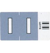 6618 Ziffernsignale Orgacolor Buchstaben I grau 23x30mm 250 Stück