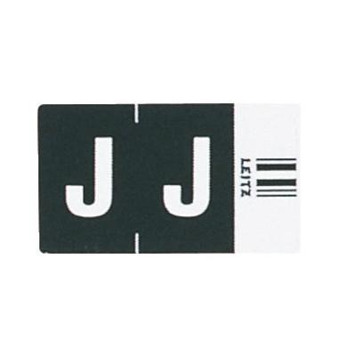 6619 Ziffernsignale Orgacolor Buchstaben J schwarz 23x30mm 250 Stück