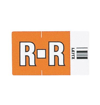 6627 Ziffernsignale Orgacolor Buchstaben R orange 23x30mm 250 Stück