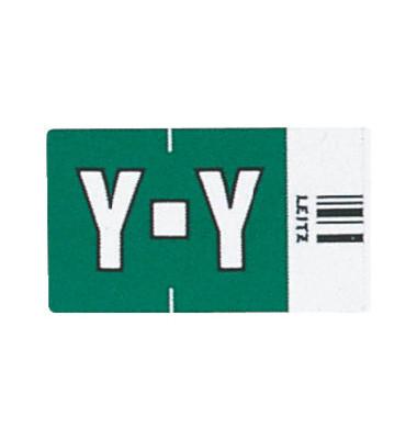 6634 Ziffernsignale Orgacolor Buchstaben Y dunkelgrün 23x30mm 250 Stück
