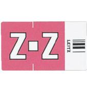 6635 Ziffernsignale Orgacolor Buchstaben Z rosa 23x30mm 250 Stück