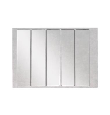 Schutzetiketten 6651 46 x 195 mm transparent Folie 500 Stück OCplus