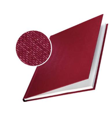 Buchbindemappen impressBind HardCover A4 bordeaux 3,5mm 15-35 Blatt 10 Stück