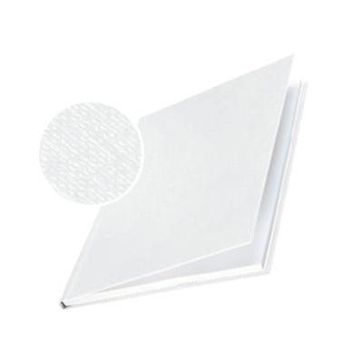 Buchbindemappe impressBind A4 HardCover 7mm weiß 36-70 Blatt 10 Stück