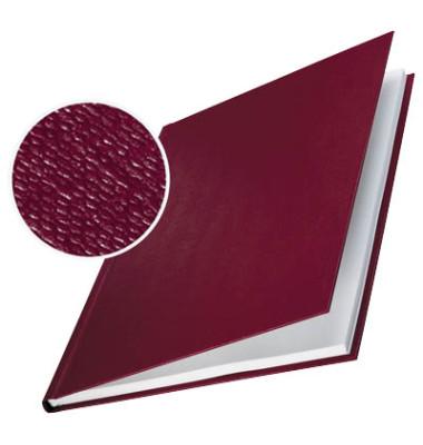 Buchbindemappen f.36-70 Blatt bordeaux A4,Hardcover 10 St