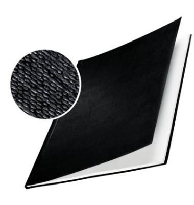 Buchbindemappen A4 schwarz Rücken:7mm HardCover 10 Stück