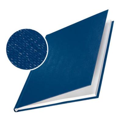 Buchbindemappen impressBind HardCover A4 blau 14mm 106-140 Blatt 10 Stück
