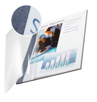 Buchbindemappen impressBind SoftCover A4 blau 3,5mm 15-35 Blatt 10 Stück
