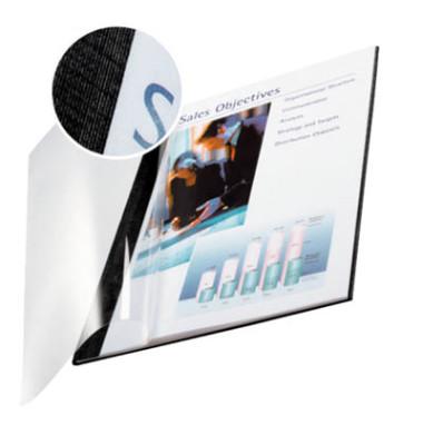 Buchbindemappe impressBind SoftCover A4 schwarz 3,5mm 10-35 Blatt 10 Stück