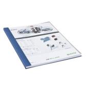 Buchbindemappen impressBind SoftCover A4 blau 7mm 36-70 Blatt 10 Stück