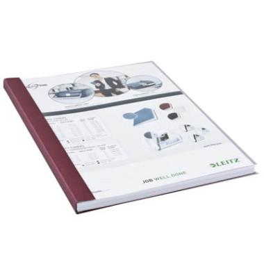 Buchbindemappen impressBind SoftCover A4 bordeaux 10,5mm 71-105 Blatt 10 Stück