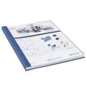 Buchbindemappen impressBind SoftCover A4 blau 10,5mm 71-105 Blatt 10 Stück