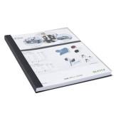 Buchbindemappe impressBind SoftCover A4 schwarz 10,5mm 71-105 Blatt 10 Stück
