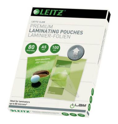 Laminierfolien iLAM UDT A5 2 x 80 mic glänzend 100 Stück