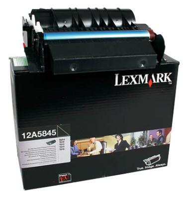 Toner 12A5840 Rückgabekassette schwarz ca 10000 Seiten