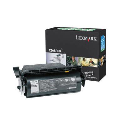 Toner 12A6860  Rückgabekassette schwarz ca 10000 Seiten