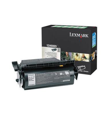 Toner 12A6865 Rückgabekassette schwarz ca 30000 Seiten